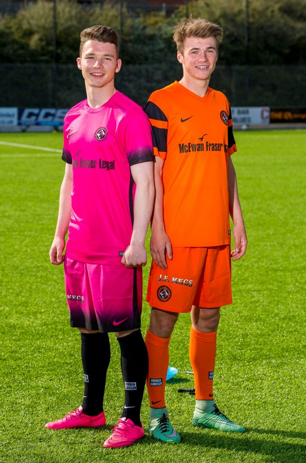 Dundee United 2016-17 Third and Home Kits