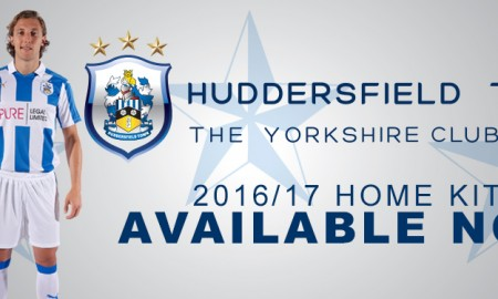 Huddersfield Town 2016-17 Home Kit Banner