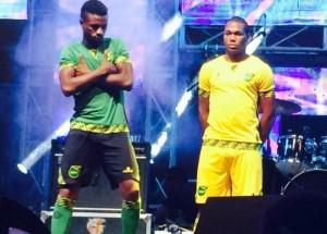 Jamaica 2016 copa america centenario kit
