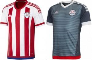 Paraguay 2016 copa america centenario kit