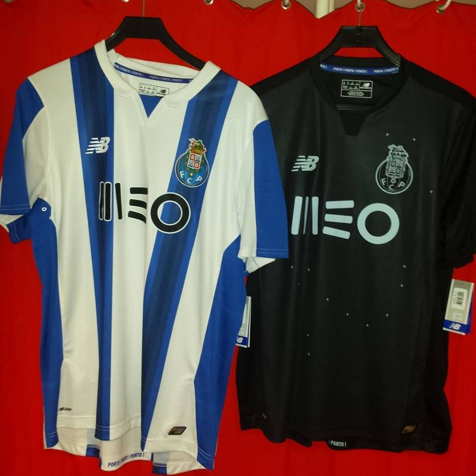 Porto Home & Away Kit 2016-17