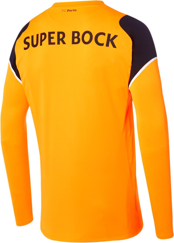 Porto Home Kit 2016-17 Goalkeeper Reverse