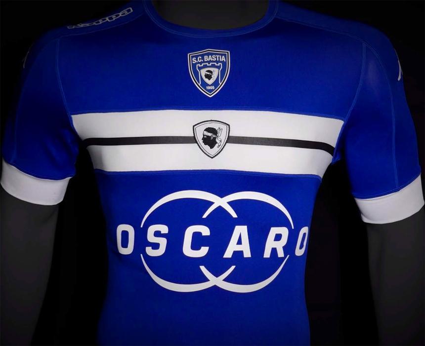 SC Bastia Home Kit 2016-17 Shirt