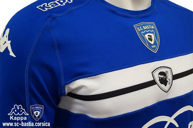 SC Bastia Home Kit 2016-17
