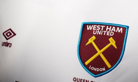 West Ham Away Shirt 2016-17 Badge