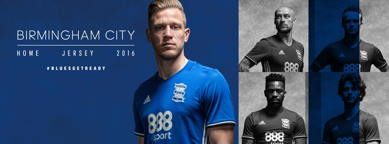 ad66c6409 Birmingham City 2016 17 Home Kit Launched