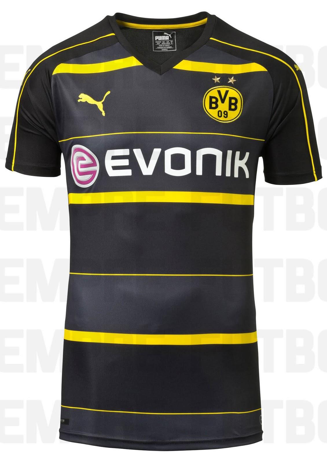 f6a3a0726 LEAKED! Borussia Dortmund 2016 17 Away Kit