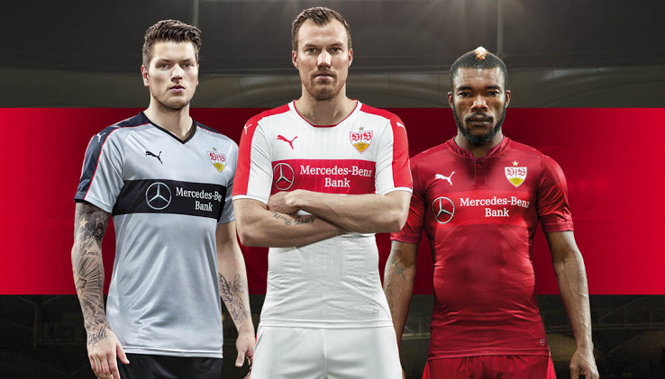 vfb stuttgart release 2016 17 away kits. Black Bedroom Furniture Sets. Home Design Ideas