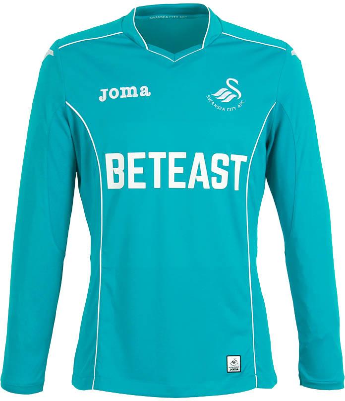 low priced db3f8 edfb0 Swansea City Launch 2016/17 Home & Away Kits