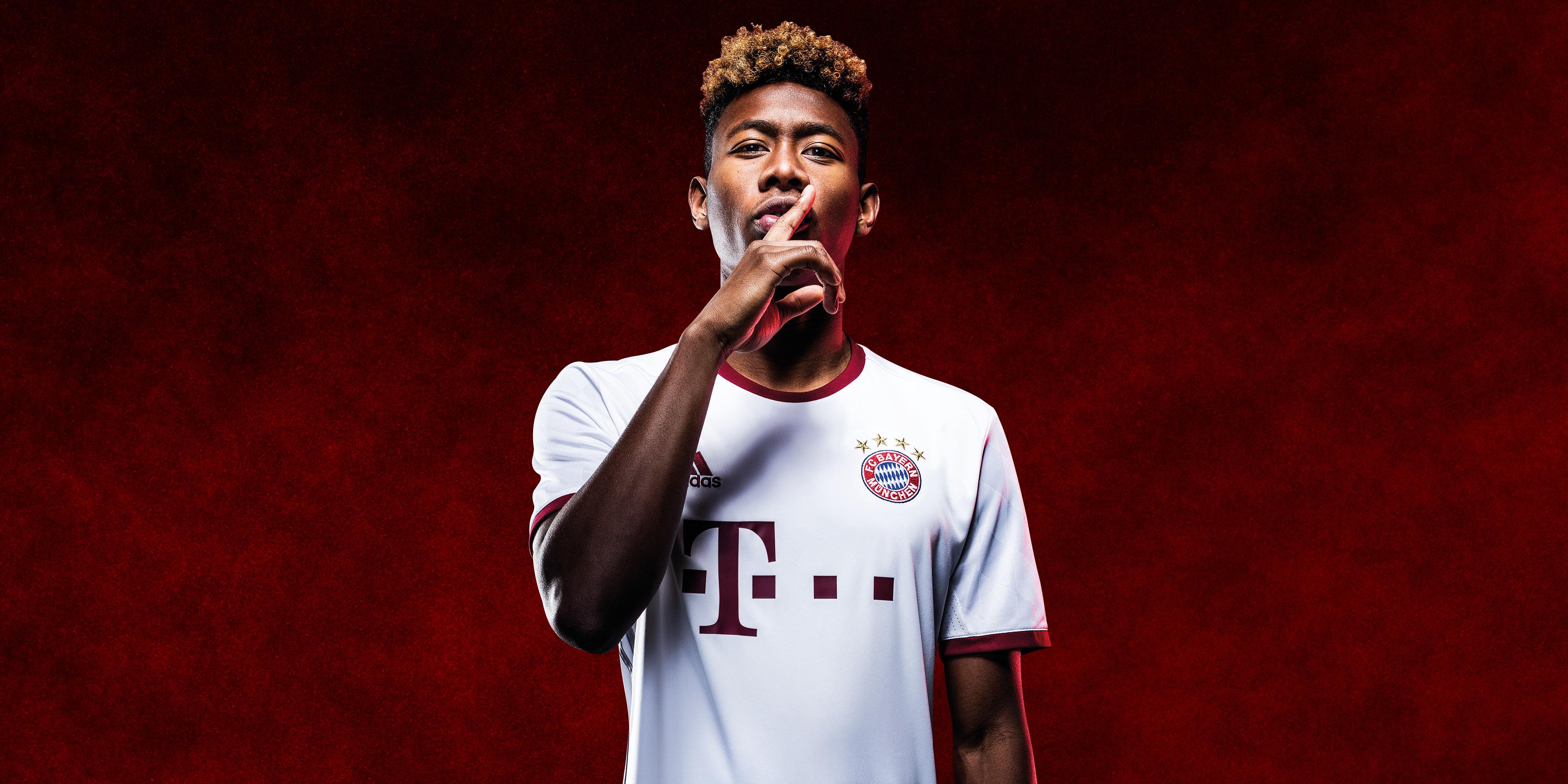 Bayern Muunich Third Kit 2016/17 Alaba