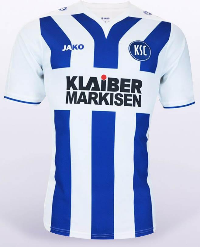 Karlsruhe SC 2016-17 Kits away front