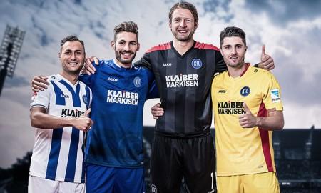 Karlsruhe SC 2016-17 Kits banner