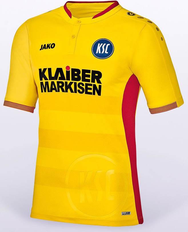 Karlsruhe SC 2016-17 Kits third front