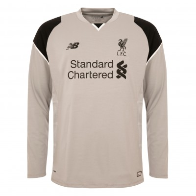 616b1e6ab4a Liverpool Third Kit 2016-17 Goalkeeper Shirt Front ...