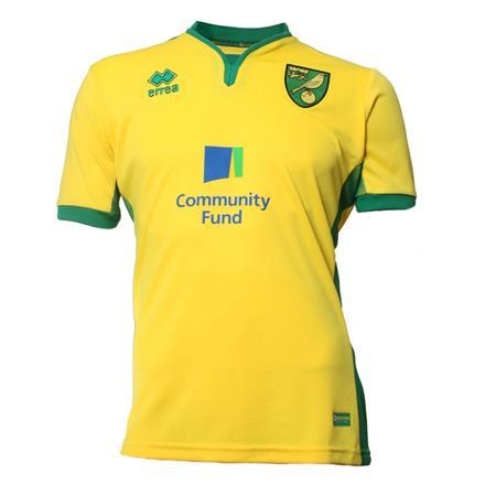 Norwich City Home Kit 2016-17 Shirt