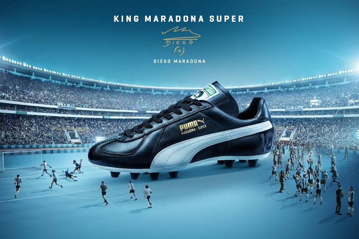 premium selection ac701 ce46f Puma Maradona Super FG banner