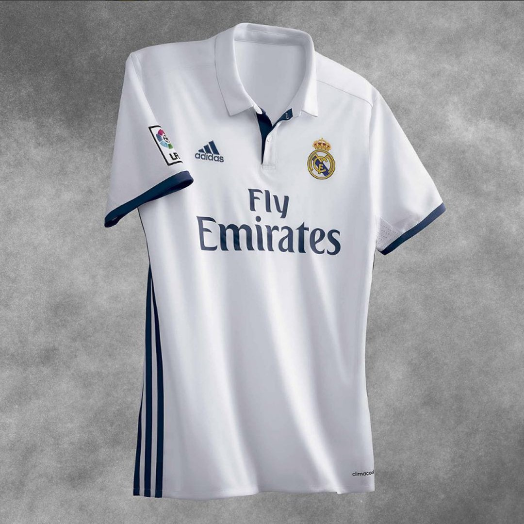 new concept 42715 c207a Real Madrid 2016/17 Home Kit Released