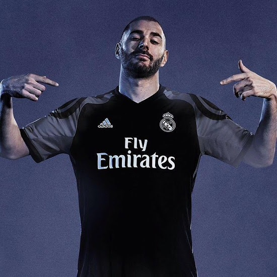 Real Madrid 2016 17 Kit Unveiled Shirt Benzema 3rd 1617