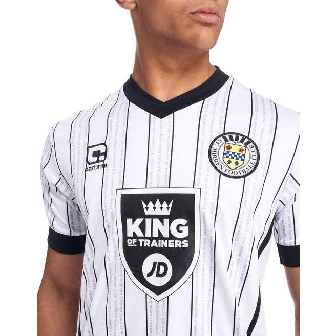St Mirren Home Kit 2016-17 Chest