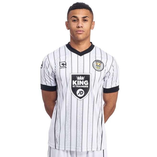 St Mirren Home Kit 2016-17 Front