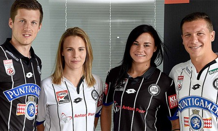 Sturm Graz 2016-17 Kits Home and Away Shirt