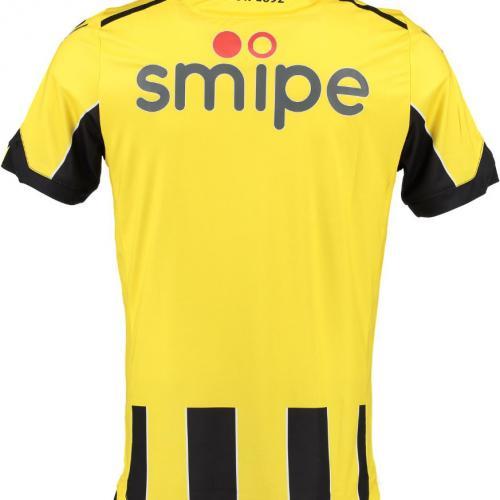 Vitesse Arnhem 2016-17 Home Kit Shirt Back