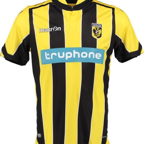 Vitesse Arnhem 2016-17 Home Kit Shirt Front