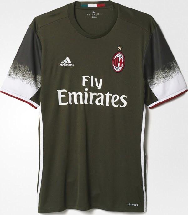 Ac Milan Third Kit 2016 17 Leaked