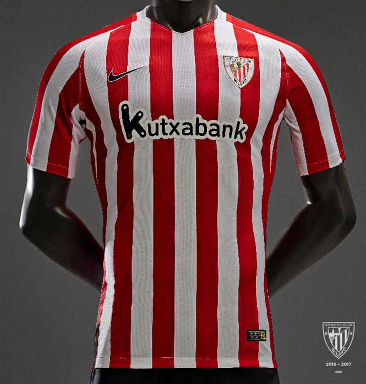 b7f5a3127ee Athletic Bilbao Reveal Their 2016-17 Home Kit