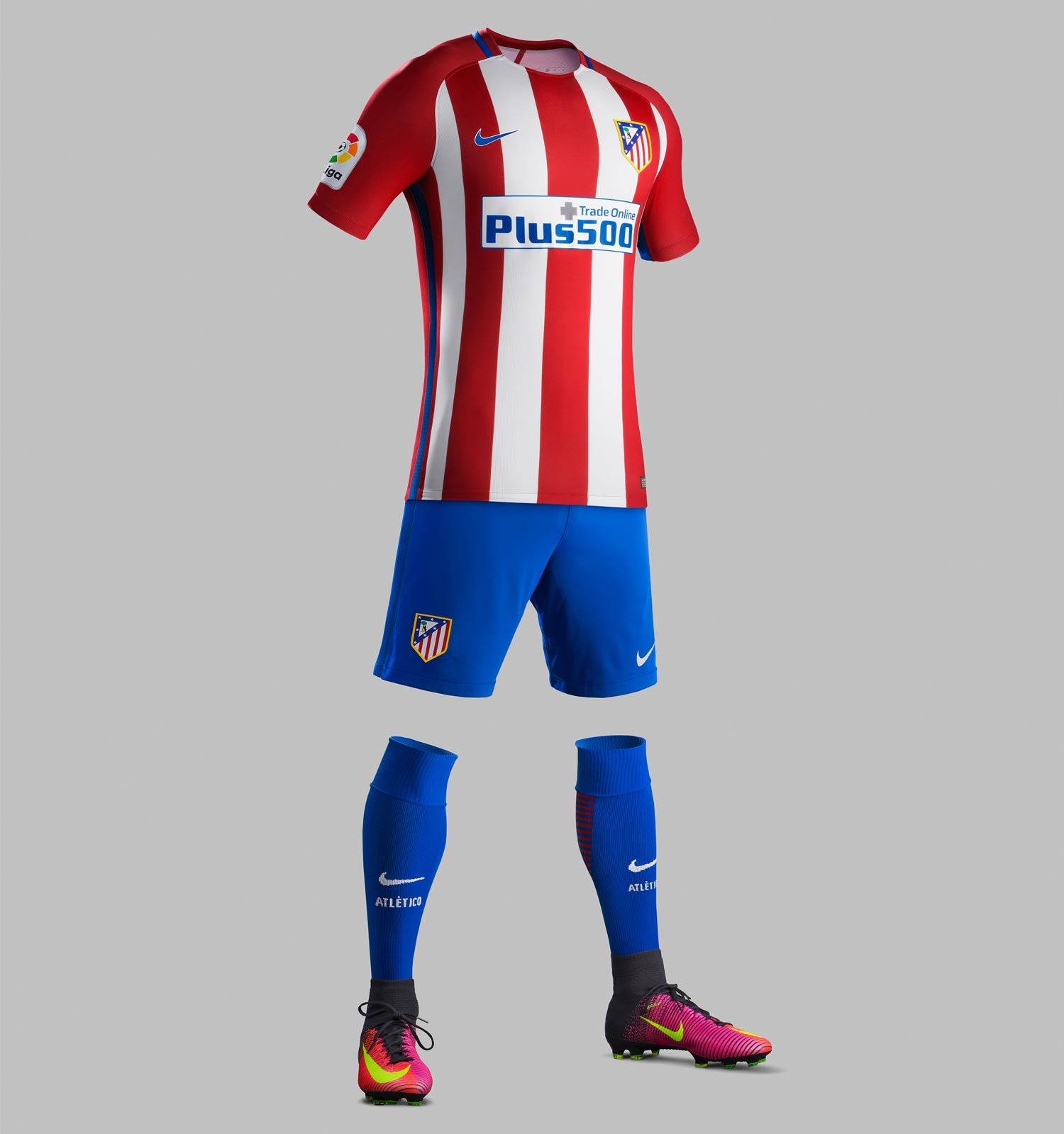 5b01ff9de Atletico Madrid 2016 17 Home Kit Unveiled