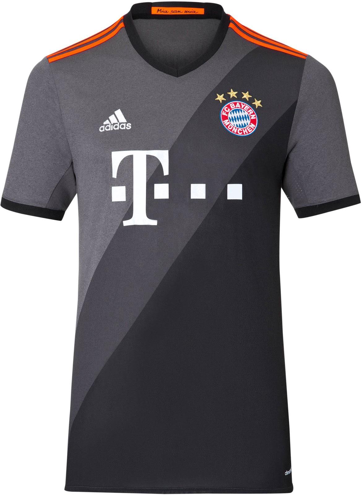 newest b6126 0e86d Bayern Munich Unveil 2016/17 Away Kit