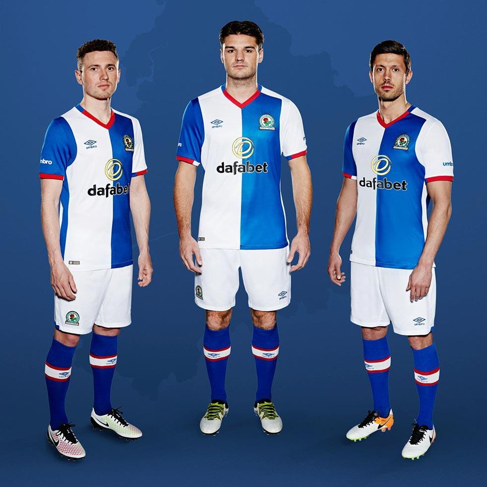 Blackburn Rovers Reveal New 2016-17 Kits 6fcb6eacb