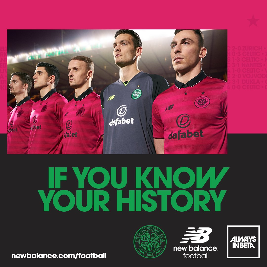 Celtic In The Pink For 16-17 Third Kit 4074f5a5b