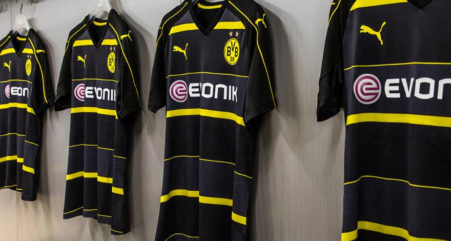 76437cc3145 Borussia Dortmund 2016/17 Away Kit Launched