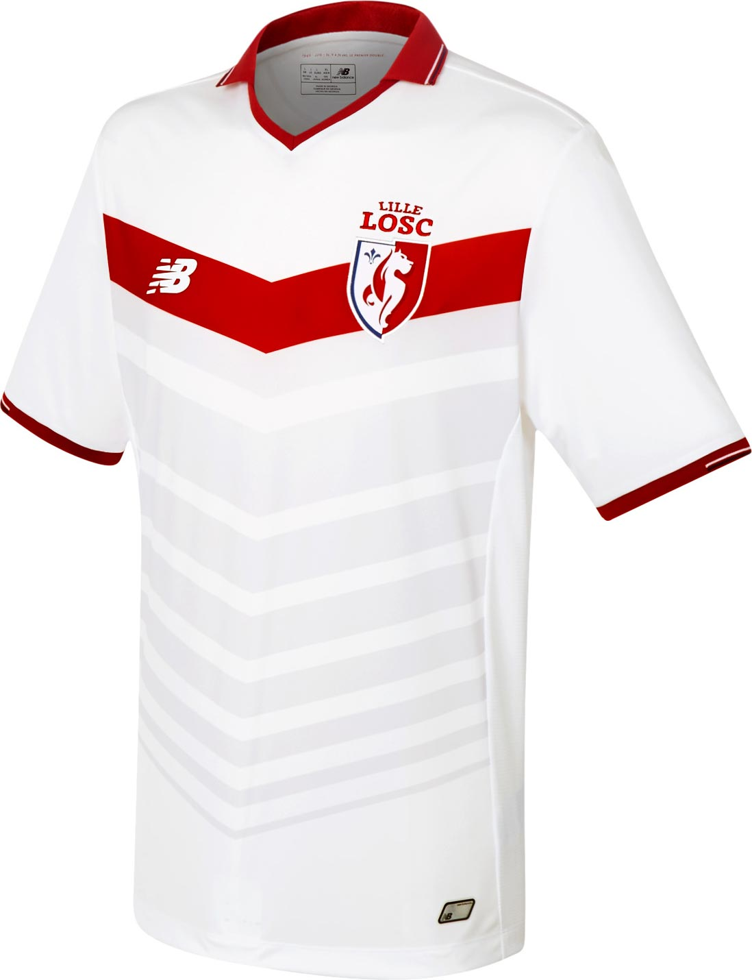 lille 2016-17 home kit front