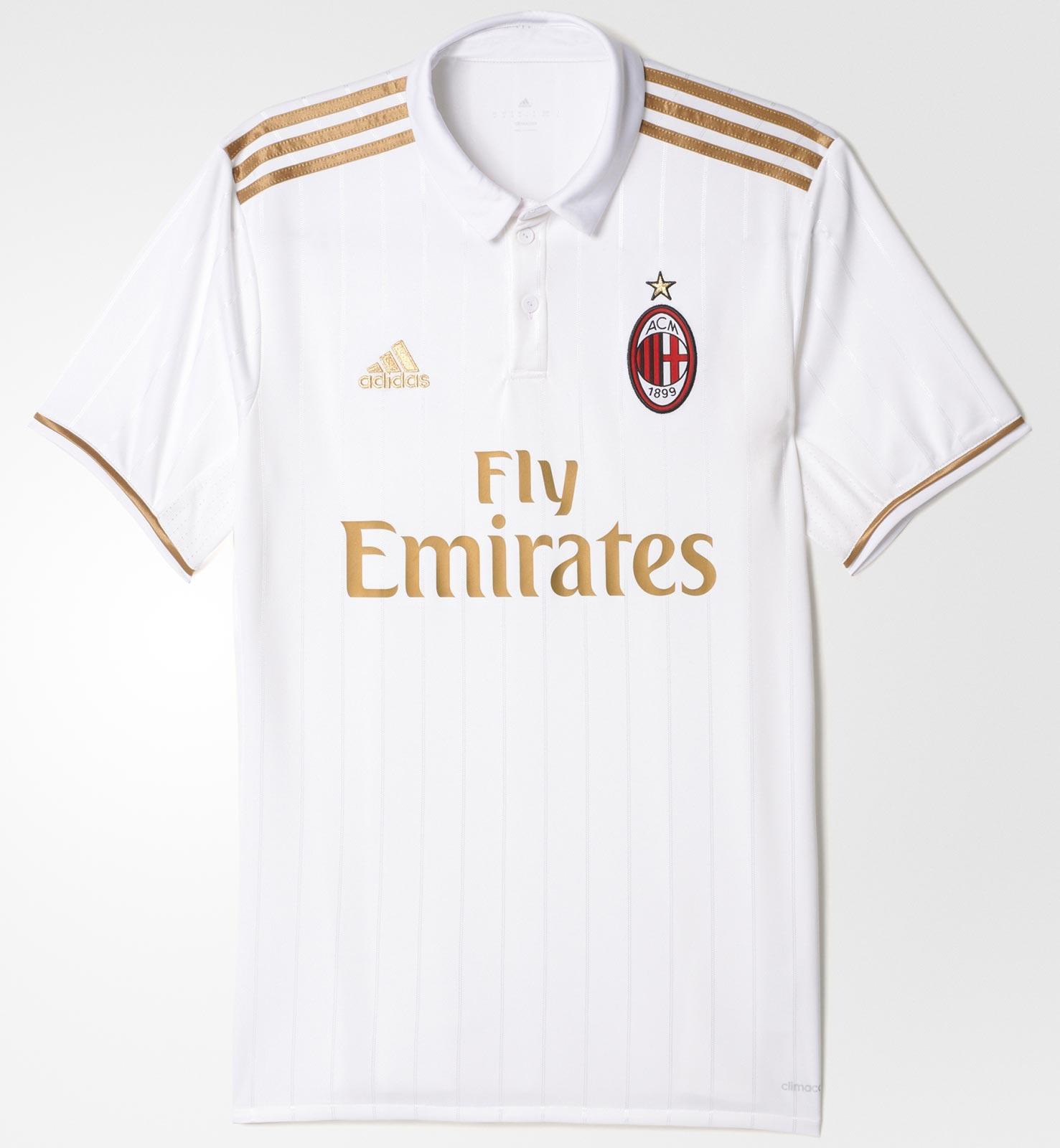 buy popular f7845 2c5ef AC Milan Unveil 2016/17 Away Kit