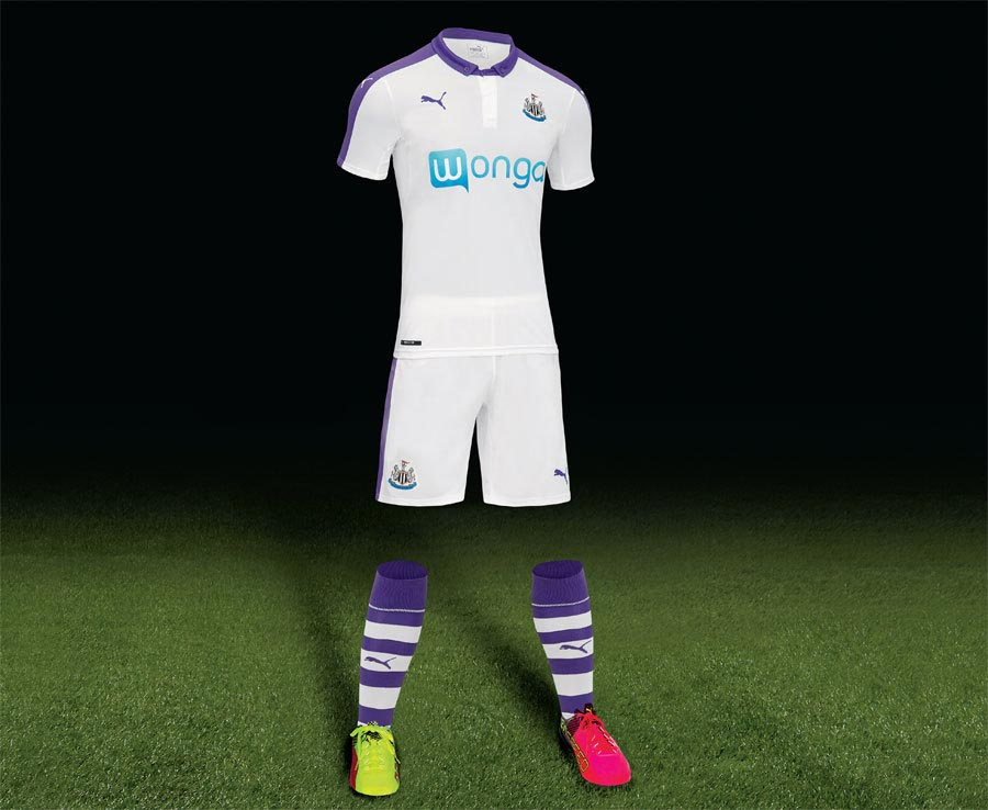 26d40ab19 Newcastle United Reveal Away   Third Kits