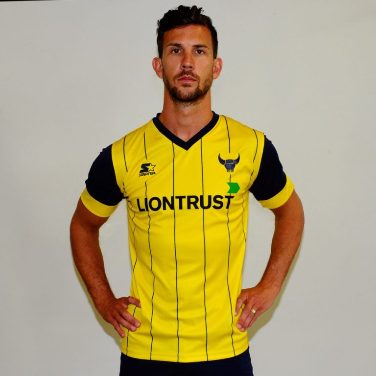 oxford united 2016-17 shirt