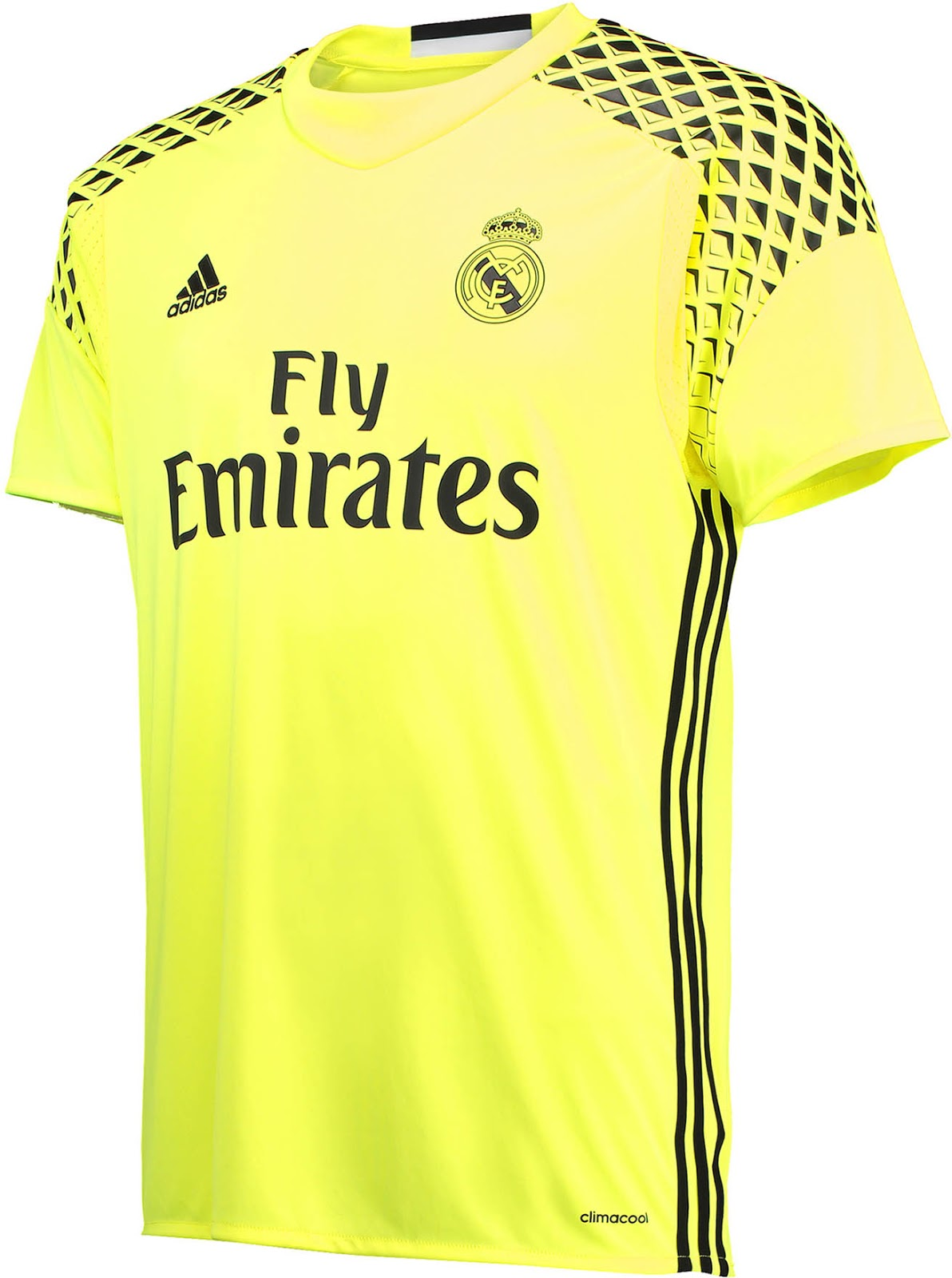 official photos bdb56 c9f5f Real Madrid 2016-17 Goalkeeper Kits Revealed