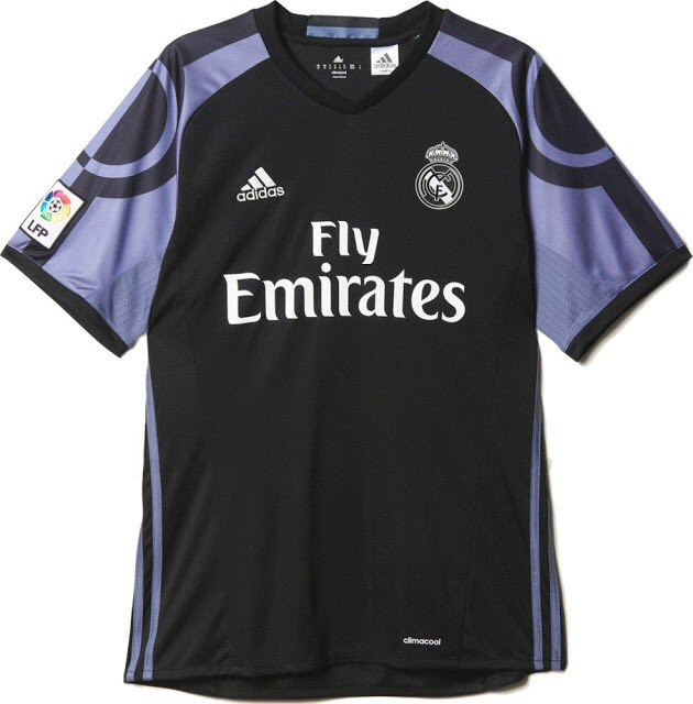 sports shoes 748ae 104ea LEAKED! Real Madrid 2016/17 Third Kit