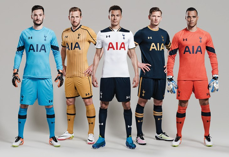 separation shoes 4cafc ff5f3 Tottenham Hotspur Away & Third Kits Revealed