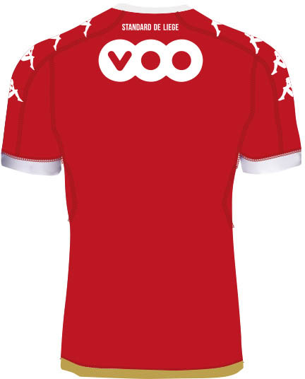 Standard Liège 16-17 home back