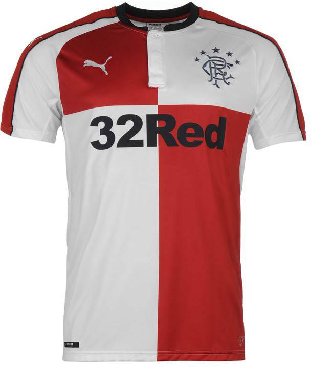 55d239ce9 Glasgow Rangers 2016 17 Kits Launched