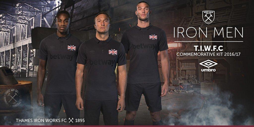 west Ham ironworks kit banner