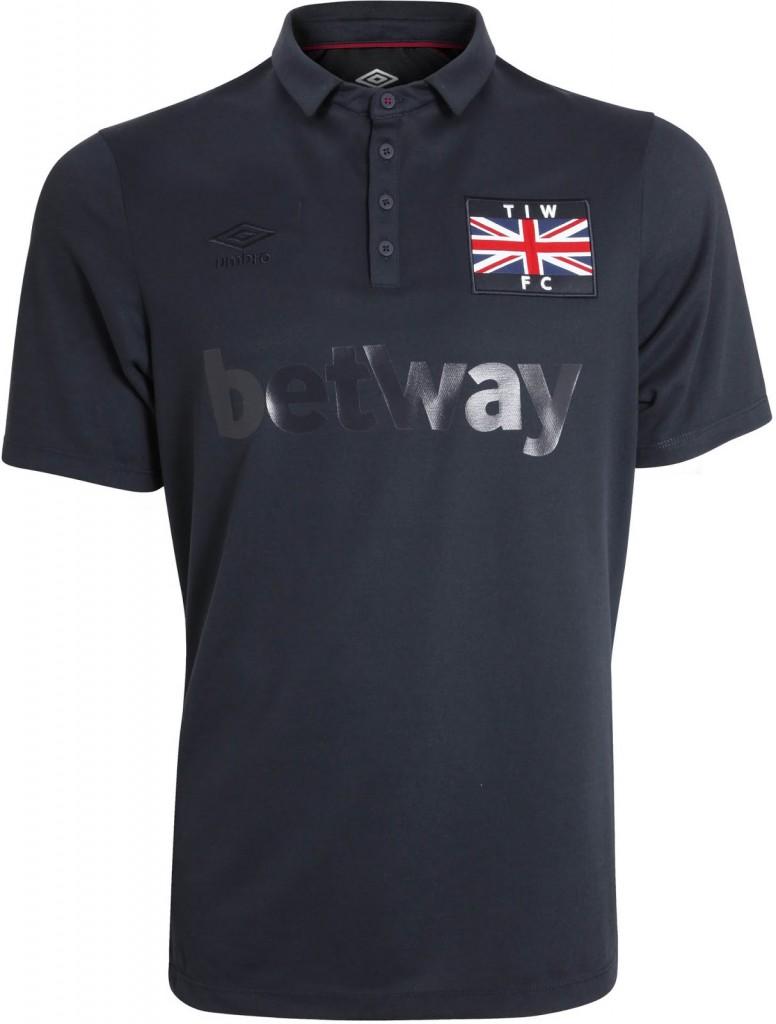 west Ham ironworks kit front