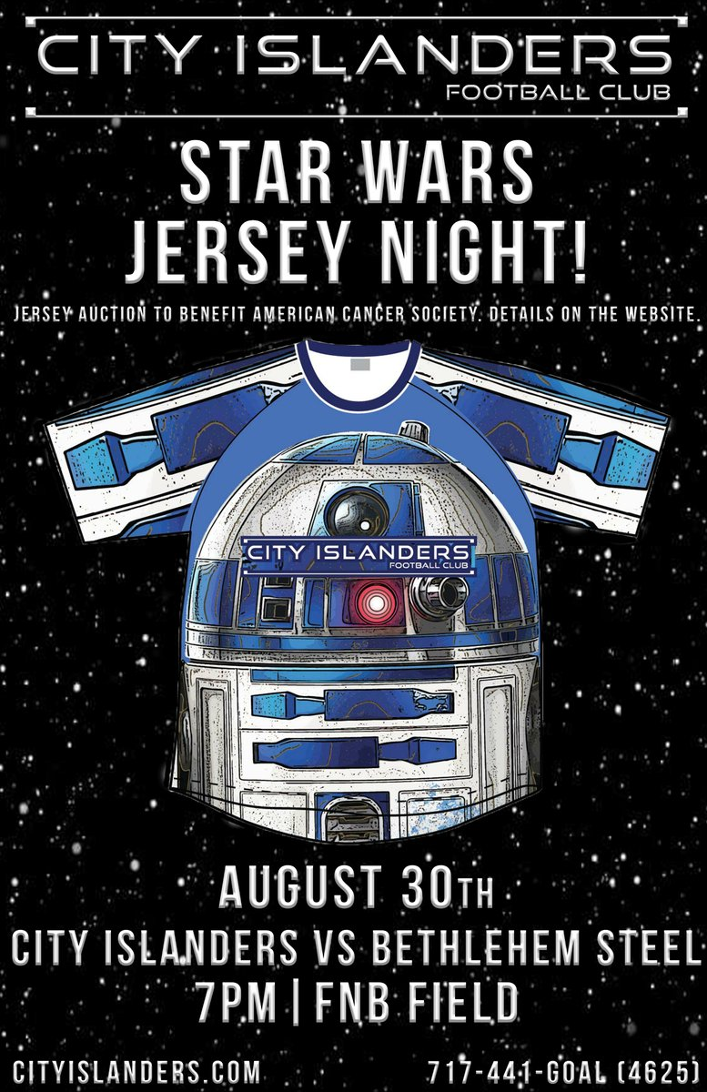 City Islanders 2016 R2D2 Star Wars Kit poster