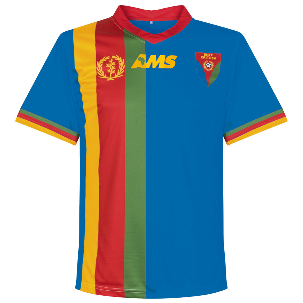 Eritrea 2016 - 17 Away Kit Front