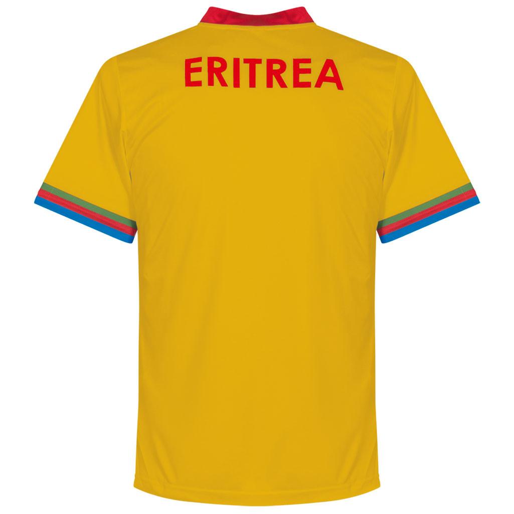 Eritrea 2016 - 17 Third Kit Back