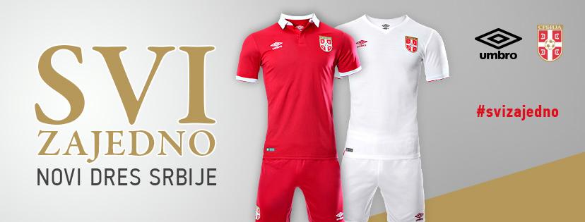 b2314c67831 Serbia 2016/17 Kits Unveiled