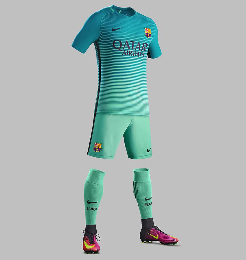 the best attitude 0c5c2 c7517 Barcelona Debut Third Kit Tonight